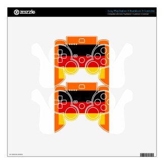 GERMANY PS3 CONTROLLER DECALS