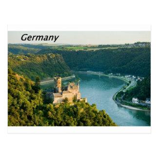 Germany  rhine [kan.k].JPG Postcard