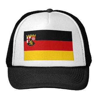 Germany Rhineland Flag Hats
