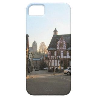 Germany, Rhineland, Rhens, half timbered houses 11 iPhone SE/5/5s Case