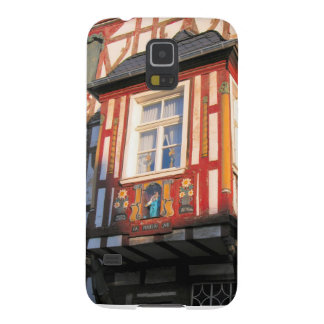 Germany, Rhineland, Rhens, half timbered houses 2 Galaxy S5 Cover