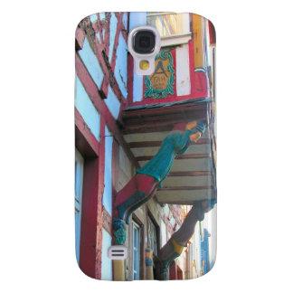 Germany, Rhineland, Rhens, half timbered houses 9 Samsung Galaxy S4 Cover