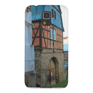 Germany, Rhineland, Rhens, half timbered houses Galaxy S5 Covers