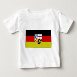 Germany SAAR Flag Baby T-Shirt