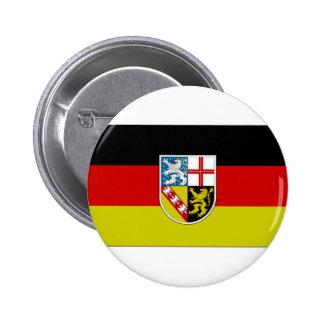 Germany SAAR Flag Buttons