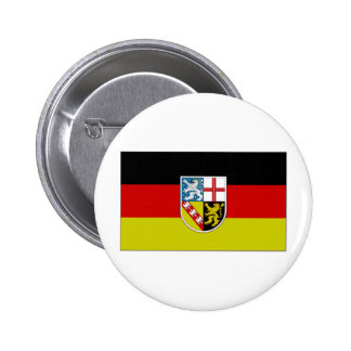 Germany SAAR Flag Pinback Button
