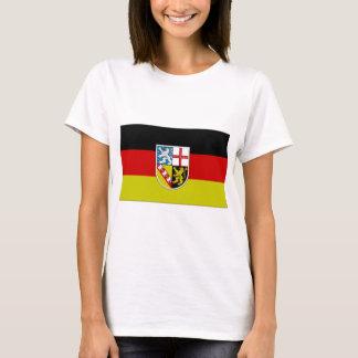 Germany SAAR Flag T-Shirt
