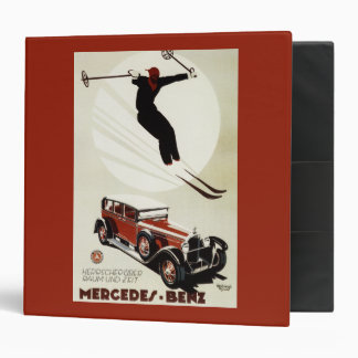 Germany - Skier Jumping 3 Ring Binder