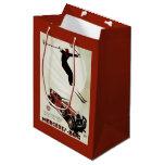 Germany - Skier Jumping Medium Gift Bag