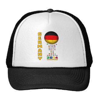 Germany Soccer  0041 Trucker Hats