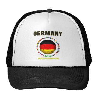 Germany Soccer  1820 Trucker Hats