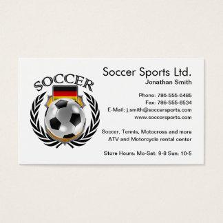 Germany Soccer 2016 Fan Gear Business Card