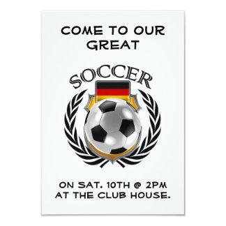 Germany Soccer 2016 Fan Gear Card