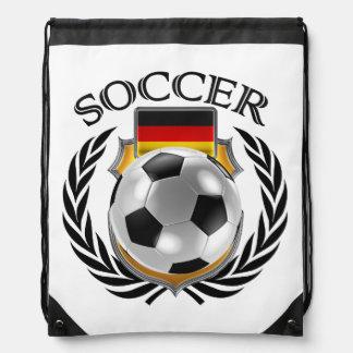 Germany Soccer 2016 Fan Gear Drawstring Backpack