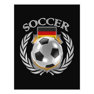 Germany Soccer 2016 Fan Gear Flyer