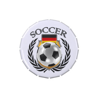 Germany Soccer 2016 Fan Gear Jelly Belly Tin