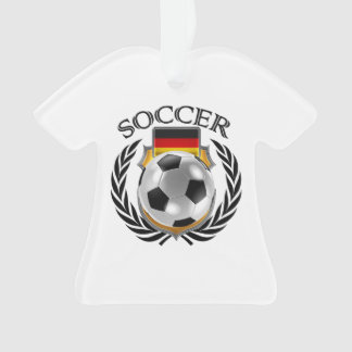 Germany Soccer 2016 Fan Gear Ornament