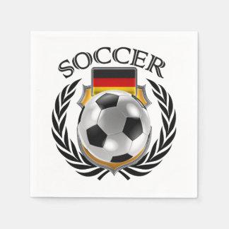 Germany Soccer 2016 Fan Gear Paper Napkin
