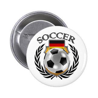 Germany Soccer 2016 Fan Gear Pinback Button