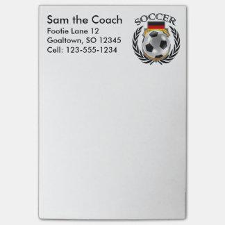 Germany Soccer 2016 Fan Gear Post-it Notes