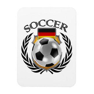 Germany Soccer 2016 Fan Gear Rectangular Photo Magnet