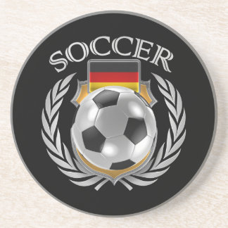 Germany Soccer 2016 Fan Gear Sandstone Coaster