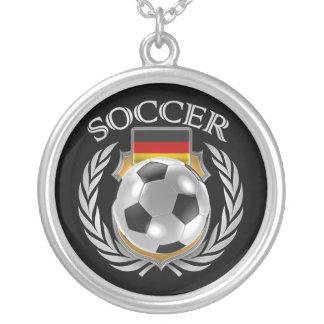 Germany Soccer 2016 Fan Gear Silver Plated Necklace