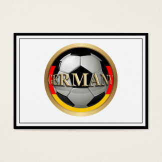 Germany Soccer Ball Business Card