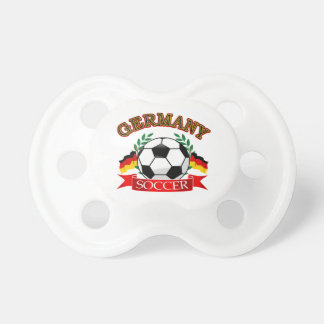 Germany soccer ball designs baby pacifiers