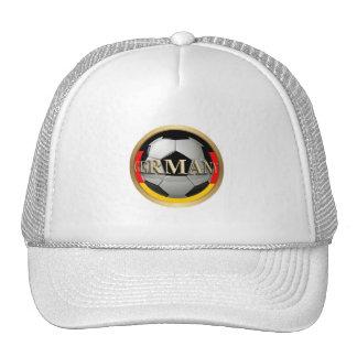 Germany Soccer Ball Trucker Hats