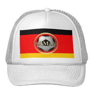 Germany Soccer Ball Hats