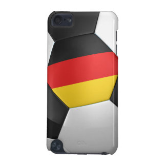 Germany Soccer Ball iPod Touch 5G Cases