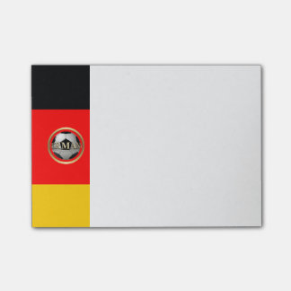 Germany Soccer Ball Post-it® Notes