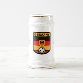 Germany Soccer Beverage Stein