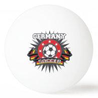 Germany Soccer Burst Ping Pong Ball