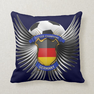 Germany Soccer Champions Pillow