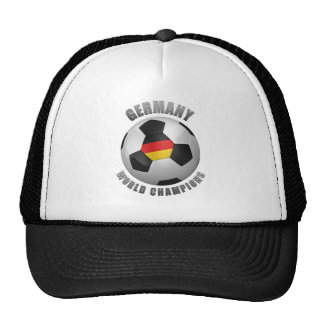 GERMANY SOCCER CHAMPIONS TRUCKER HATS