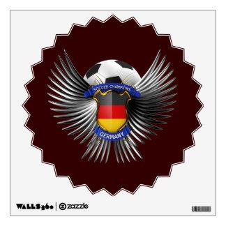 Germany Soccer Champions Wall Sticker