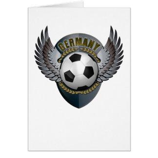 Germany Soccer Crest Cards