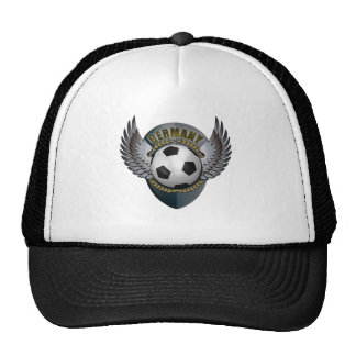 Germany Soccer Crest Hats