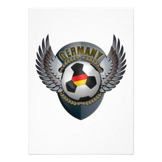 Germany Soccer Crest Custom Announcement