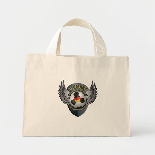 Germany Soccer Crest Mini Tote Bag