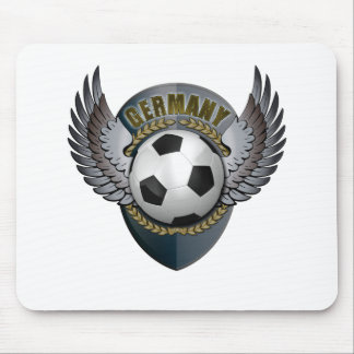 Germany Soccer Crest Mouse Pads