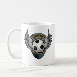 Germany Soccer Crest Coffee Mugs