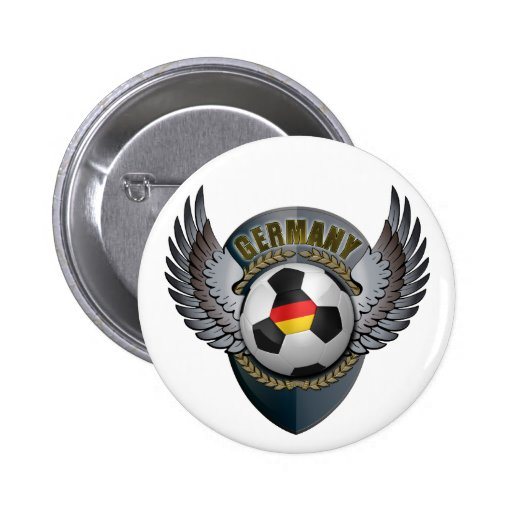 Germany Soccer Crest Pins