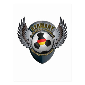 Germany Soccer Crest Postcard