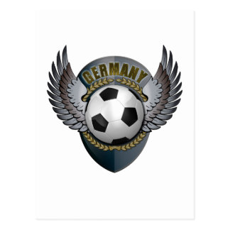 Germany Soccer Crest Post Cards