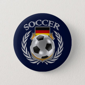 Germany Soccer Fan Button