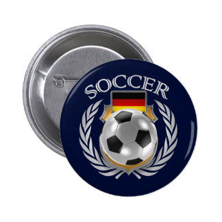 Germany Soccer Fan Button