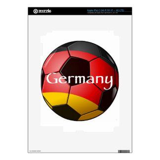 Germany Soccer iPad 3 Decal